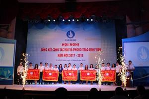 Hội nghị Tổng kết công tác Hội và phong trào sinh viên Thanh phố Bác năm học 2017 - 2018
