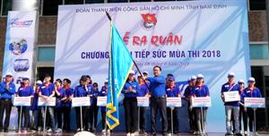 Nam Định: 34 đội tình nguyện Tiếp sức mùa thi 2018