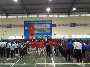 Giao lưu thể thao giữa sinh viên Vĩnh Long và Thanh niên tỉnh Kompong Speu - Vương quốc Campuchia năm 2019