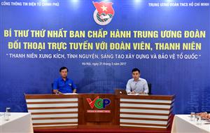 Ngày 21/3, Bí thư thứ nhất Trung ương Đoàn sẽ đối thoại trực tuyến với đoàn viên, thanh niên