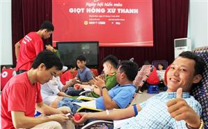 3.000 người ở Thanh Hóa hiến máu tình nguyện