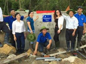 Bàn giao Hệ thống nước tự chảy dân sinh tại làng thanh niên lập nghiệp Mo Ray, tỉnh Kon Tum