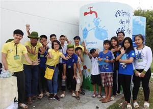 Sức trẻ Mùa hè xanh hòa cùng hành trình Mizuiku - Em yêu nước sạch 2017