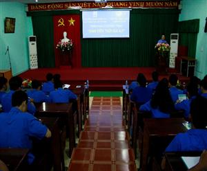 Đoàn Thanh niên - Hội Sinh viên Việt Nam trường Đại học Xây dựng Miền Tây tổ chức chương trình hỗ trợ sinh viên tiếp cận khoa học - công nghệ