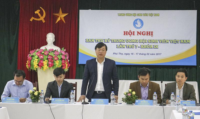 Hội nghị Ban Thư ký Trung ương Hội sinh viên Việt Nam lần thứ 7, khóa IX