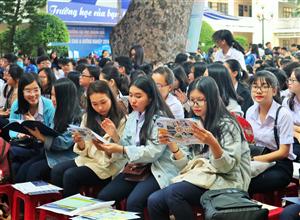 Hơn 4.500 học sinh Khánh Hòa các trường THPT trong tỉnh đã tham gia Chương trình tư vấn tuyển sinh – hướng nghiệp năm 2019