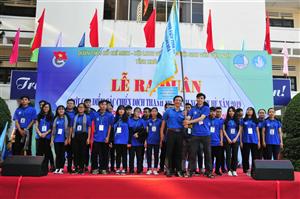Lễ ra quân cao điểm các chiến dịch Thanh niên tình nguyện hè năm 2019 tỉnh Khánh hòa