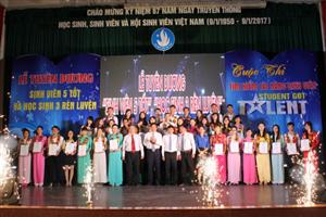 Bình Định kỷ niệm 67 năm Ngày truyền thống học sinh, sinh viên và Hội Sinh viên Việt Nam