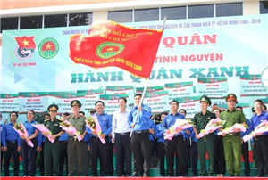 Xuất quân chiến dịch Hành quân xanh TPHCM năm 2018