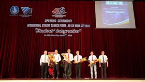 TP HCM: Khai mạc Diễn đàn khoa học sinh viên quốc tế 2016