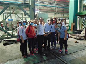Sinh viên Bình Dương trải nghiệm thực tế môi trường sản xuất tại doanh nghiệp
