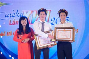 Euréka 2015: Võ Lâm Khánh Duy, Nguyễn Xuân Giềng giành giải đặc biệt