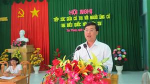 Anh Lê Quốc Phong tiếp xúc cử tri tại huyện Tuy Phong, Bình Thuận