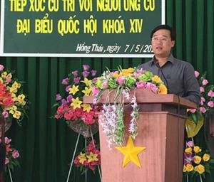 Anh Lê Quốc Phong: Cần giúp ngư dân vươn khơi, bảo vệ chủ quyền biển đảo