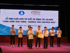 """Tổng kết, trao giải """"Sinh viên Việt Nam- Những câu chuyện đẹp"""""""