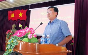 Đồng chí Lê Quốc Phong đắc cử đại biểu Quốc hội đơn vị số 1 Bình Thuận