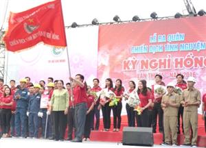 TP. HCM: Ra quân chiến dịch tình nguyện Kỳ nghỉ Hồng lần thứ 15