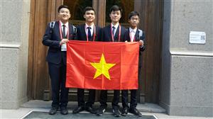 Việt Nam giành 2 HCV Olympic Hóa học Quốc tế 2016