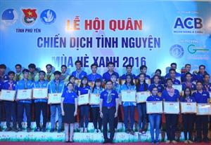 Phú Yên: Hội quân Chiến dịch tình nguyện Mùa hè xanh năm 2016