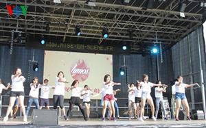 Tưng bừng Festival sinh viên Việt Nam tại châu Âu