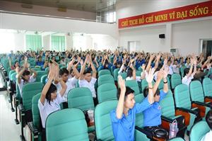 Hội nghị tổng kết công tác Đoàn - Hội trường Đại học Đồng Tháp năm học  2015 - 2016