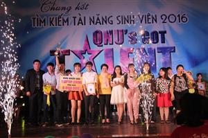 Chung kết tìm kiếm tài năng sinh viên Đại học Quy Nhơn năm 2016