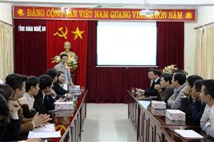 Hội nghị Ban chấp hành Hội sinh viên tỉnh Nghệ An khóa II nhiệm kỳ 2013 - 2018