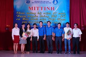 ĐH Trà Vinh tổ chức lễ Mitinh Kỷ niệm 67 năm ngày truyền thống học sinh, sinh viên và Hội Sinh viên Việt Nam (9/1/1950 - 9/1/2017)
