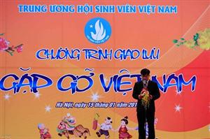 Không khí Tết Việt sôi nổi, ấm áp trong chương trình giao lưu Gặp gỡ Việt Nam