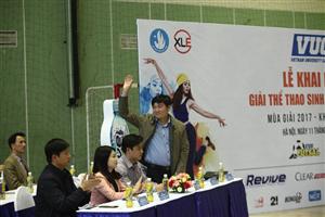 Lễ khai mạc Giải Thể thao sinh viên Việt Nam mùa giải thứ 5 năm 2017 tại khu vực Hà Nội