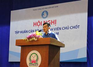 Hội nghị tập huấn Cán bộ Hội Sinh viên Chủ chốt khu vực Miền Nam