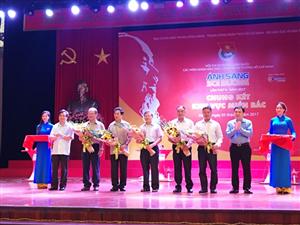 """Đội tuyển Thái Nguyên dẫn đầu khu vực miền Bắc Hội thi """"Ánh sáng soi đường"""" lần thứ II"""