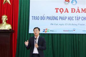 Buổi Tọa đàm trao đổi phương pháp học tập cho tân sinh viên trường Đại học Đà Lạt