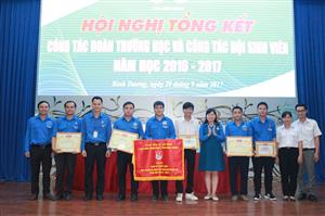 Hội nghị Tổng kết công tác Đoàn trường và công tác Hội Sinh viên tỉnh Bình Dương năm học 2016 - 2017