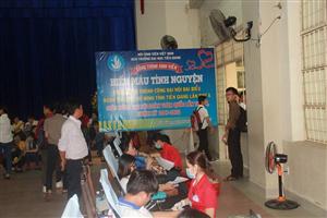 Hội Sinh viên Trường Đại học Tiền Giang tổ chức Hiến máu tình nguyện lần 2 năm 2017