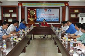 Bình Định: Hội nghị giao ban công tác Đoàn , Hội và phong trào thanh niên, sinh viên năm học 2017 - 2018