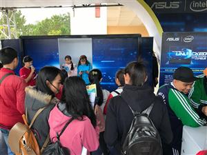 Trường Đại học Đà Lạt phối hợp tổ chức chương trình Ngày hội máy tính ASUS tại trường Đại học Đà Lạt