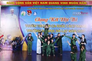 Trường Đại học Đà Lạt tổ chức cuộc thi tuyên truyền ca khúc Cách mạng năm 2017