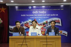 Phát động Cuộc thi sáng tác video clip hát Quốc ca trong Sinh viên