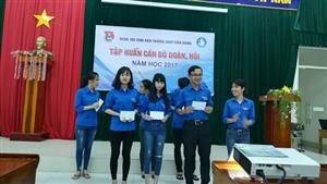 Trường Cao đẳng Sư phạm Kiên Giang tổ chức lớp tập huấn cán bộ Đoàn, Hội năm học 2017 - 2018