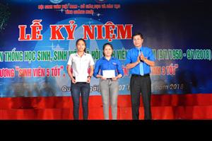 Lễ kỷ niệm 68 năm Ngày truyền thống Học sinh, sinh viên và Hội Sinh viên Việt Nam tại Quảng Ngãi