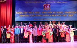 Hội thi Mr and Miss - Sinh viên tài năng, thanh lịch trường Cao đẳng Sơn La