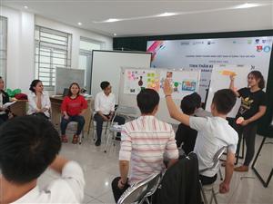 Hội Sinh viên Thành phố Đà Nẵng tổ chức lớp tập huấn Tinh thần doanh nhân vì xã hội cho đoàn viên thanh niên thành phố.