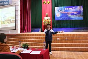 """Đại học Hà Tĩnh: Chung kết Cuộc thi """"Ý tưởng khởi nghiệp"""" lần thứ 2."""
