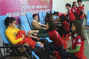 Nghệ An: Sôi nổi các hoạt động hiến máu tình nguyện trong Sinh viên