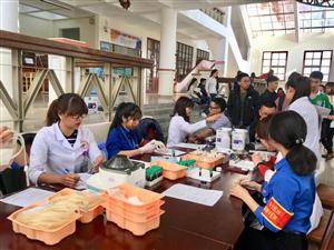 Chương trình Hiến máu tình nguyện tại Trường Đại học Đà Lạt