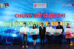 Trường Đại học Đà Lạt tổ chức Chung kết Cuộc thi Ý tưởng sáng tạo và khởi nghiệp