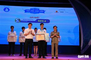 Nguyễn Hoàng Phúc giành quán quân hội thi Thủ lĩnh sinh viên toàn quốc