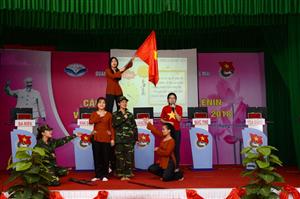 Đoàn trường Cao đẳng Thương mại tổ chức Hội thi Olympic các môn khoa học Mác-Lênin và Tư tưởng Hồ Chí Minh năm 2018