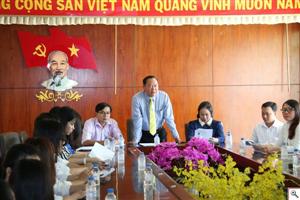 Hội nghị kiện toàn Ban chấp hành HSVVN trường Đại học Trà Vinh